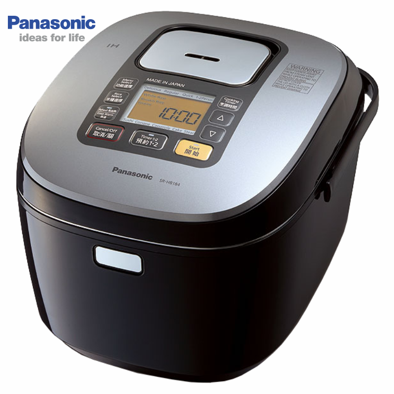 Panasonic 國際 SR-HB184 10人份  IH微電腦電子鍋 日本原裝