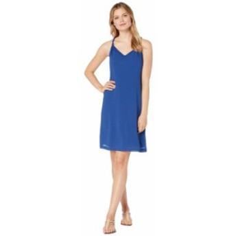 トッミーバハマ レディース ワンピース トップス Coastview Gauze Short Dress Dark Cobalt