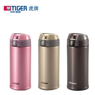 免運費 TIGER虎牌 500CC彈蓋式保溫保冷杯/ 保溫杯/保溫瓶MMQ-S050(香檳金)