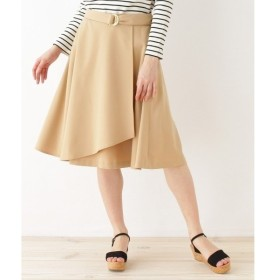 Couture Brooch / クチュールブローチ 【WEB限定サイズ(SS・LL)あり】巻き風フレアースカート
