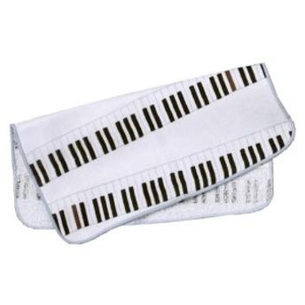 がーぜたおる 『 ピアノ 』 ハンカチ 泉州 [日本製]