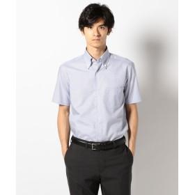 【オンワード】 ONWARD J BRIDGE(オンワード ジェイ ブリッジ) 【enter G】【日本製】マイクログラフチェックシャツ ネイビー 38 メンズ 【送料無料】