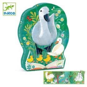 パズル みにくいアヒルの子 24ピース ジグソーパズル 幼児 知育玩具 おもちゃ ジェコ