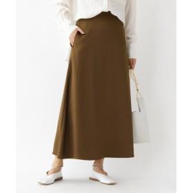 aquagirl(アクアガール) サテンマキシAラインスカート