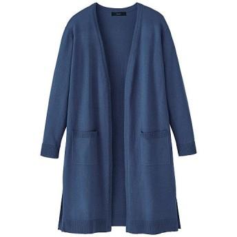 60%OFF【レディース】 洗えるUVロングカーディガン - セシール ■カラー:スモークブルー ■サイズ:S