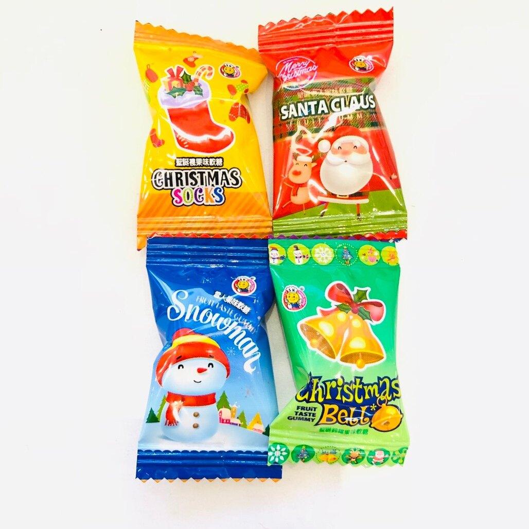 聖誕Q軟糖-單個,點心/零嘴/餅乾/糖果/韓國代購/日本糖果/零食/伴手禮/禮盒,X射線【C010010】