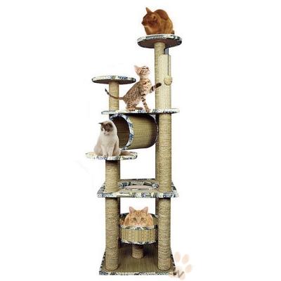 寵喵樂 第四代水草繩貓跳台