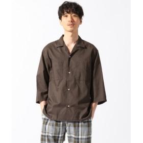 [マルイ]【セール】【洗える】綿麻オープンカラー7分袖 シャツ/シェアパーク メンズ(SHARE PARK MENS)
