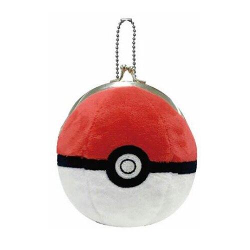 【日本進口正版】皮卡丘 神奇寶貝 寶貝球 吊飾 珠扣包 零錢包 PIKACHU - 037272