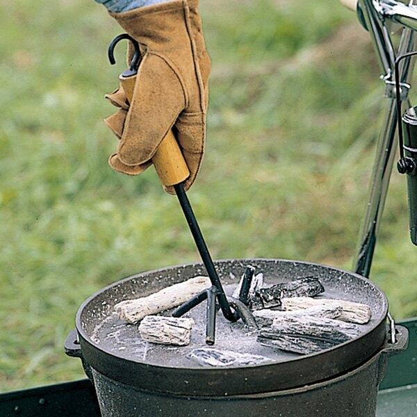 【【蘋果戶外】】LOGOS LG81062202 荷蘭鍋起鍋勾 鍋蓋提把 起鍋鉗 日本製造