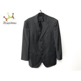 コムサコレクション COMME CA COLLECTION シングルスーツ サイズLL メンズ 美品 ダークグレー   スペシャル特価 20190911