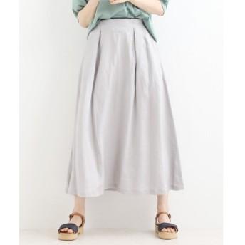 NIMES / ニーム LINEN フレアースカート