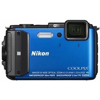 Nikon デジタルカメラ COOLPIX AW130 ブルー 中古品 アウトレット
