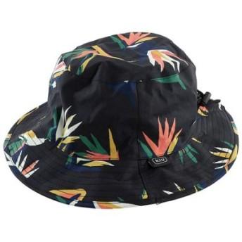 (BACKYARD FAMILY/BACKYARD FAMILY)KiU UV & RAIN PACKABLE BUCKET HAT パッカブルバケットハット/レディース ブラック