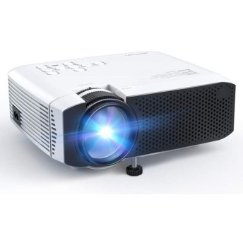 APEMAN 小型 プロジェクター LED 3500lm 1920×1080最大解像度 内蔵スピーカー 2 台形補正 HDMI/USB/VGA/TF/AV/対応 スマホ/パソコン/タブレット/ゲーム機/DVD
