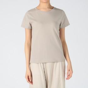 MELROSE CLAIRE(メルローズ クレール)/【Suppie Cotton】きれいめラウンドネックTシャツ