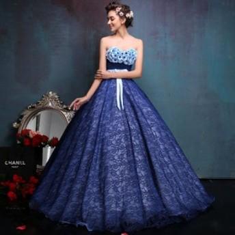 新品花嫁ドレス ウエディングドレス 結婚式 披露宴 撮影 シンプルドレス 二次会 演奏会 パーティードレス ロングドレス カラードレス