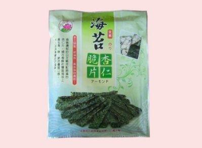 免運-順興海苔杏仁脆片團購20包-豆花伯生活館