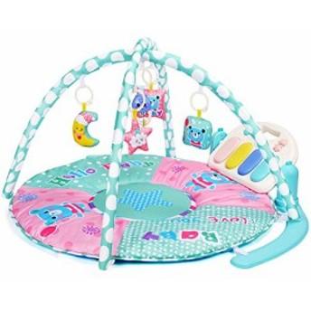 Amagoing レッドちゃん アクティビティジムキック&5件 アクティビティ感覚おもちゃ、女 子と男 子0から36ヶ月 新生児マットでピアノおな