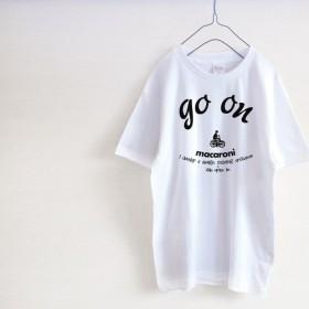 「go on」 macaroni Tシャツ