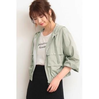 PROPORTION BODY DRESSING(プロポーション ボディ ドレッシング)/◆エアリーパール付きマウンテンパーカー