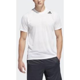 【セール】 アディダス メンズスポーツウェア 半袖機能Tシャツ M4T エアロニットグラフィックTシャツ FSK55 DU1365 メンズ ローホワ...
