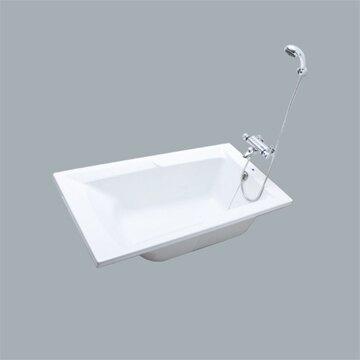 HCG無牆壓克力浴缸(不含水龍頭)140x75x43cm /F2494