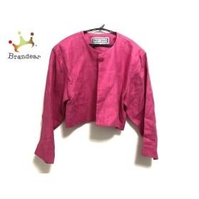 イヴサンローラン YvesSaintLaurent ジャケット サイズM レディース 美品 ピンク   スペシャル特価 20190912