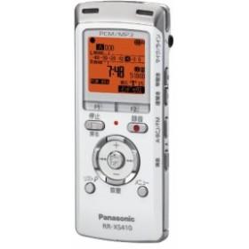 パナソニック ICレコーダー 4GB ホワイト RR-XS410-W 中古商品 アウトレット