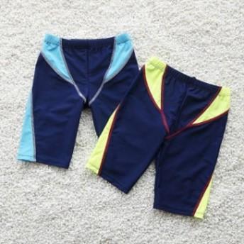 男の子水著/男の子スイミングトレーナーパンツ 競泳用水著ステッチングデザインでみずぎ 水泳 スイミング スイムウェア プール