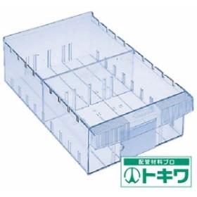 TRUSCO 樹脂製引出し 内寸242X407X108 透明 ML-2 ( 5010187 )