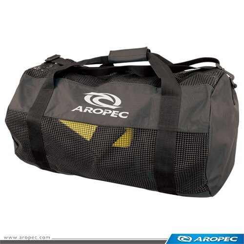 【【蘋果戶外】】AROPEC BG-CU35 網眼行李袋(通用型) 潛水浮潛用具收納袋 亞洛沛