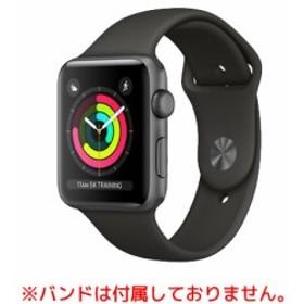 中古 スマートフォン Apple Apple Watch S3 42mm GPS スペースグレイ 本体