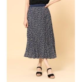 SHOO・LA・RUE/DRESKIP(シューラルー/ドレスキップ) 【WEB限定サイズあり】柄アソートプリーツスカート