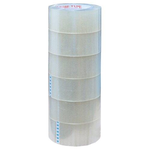 【史代新文具】地球 104 48mmx90M 透明膠帶/封箱膠帶 (1束6卷)