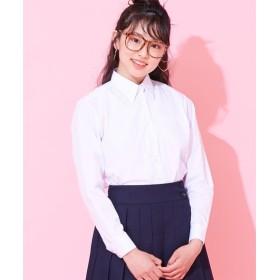 【女の子】長袖スクールシャツ(女の子 子供服 ジュニア服) 制服