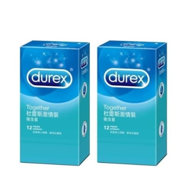 (18禁)杜蕾斯激情裝衛生套(12入×2盒)