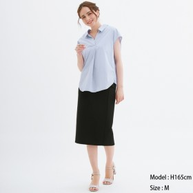 (GU)カットソータイトスカート BLACK XL