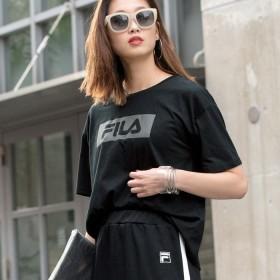 FILA フィラ ボックスロゴTシャツ