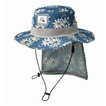 【クイックシルバー:スポーツ】キッズ UPF50+ パッカブル サーフハット BOY UV WATER HAT PRT