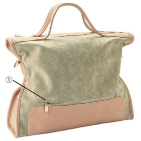 40%OFF2WAYバッグ(A4サイズ対応) - セシール ■カラー:ベージュ系