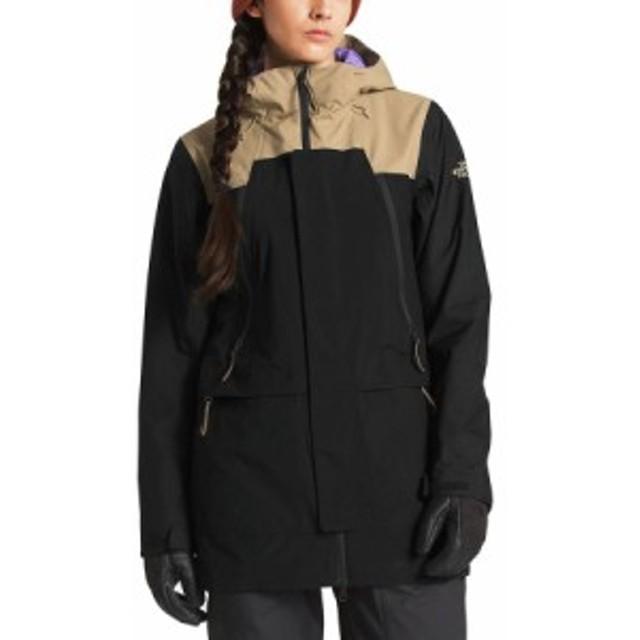 (取寄)ノースフェイス レディース クラス ジャケット The North Face Women Kras Jacket Kelp Tan/Tnf Black