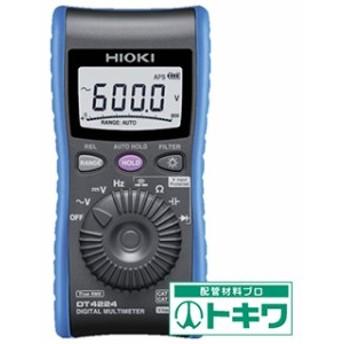 HIOKI デジタルマルチメータ DT4224 ( 8358278 )
