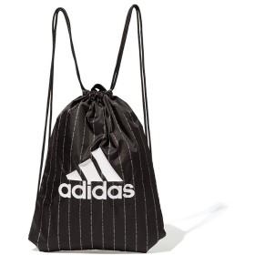 Ranan <adidas>ビッグロゴジムバッグ ブラック フリー レディース 5,000円(税抜)以上購入で送料無料 ボディバッグ ウエストポーチ 夏 レディースファッション アパレル 通販 大きいサイズ コーデ 安い おしゃれ お洒落 20代 30代 40代 50代 女性 バッグ かばん 鞄