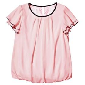 配色使いバルーンブラウス (ブラウス),Blouses, Shirts