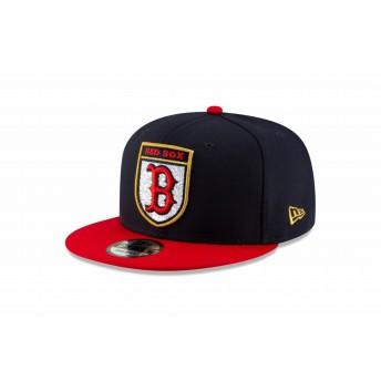 【ニューエラ公式】 9FIFTY MLB ロンドンシリーズ ボストン・レッドソックス ネイビー レッド ユニオンジャック アンダーバイザー メンズ レディース 57.7 - 61.5cm MLB キャップ 帽子 12048678 NEW ERA