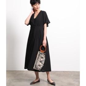 ロペ マドモアゼル/【2WAY】Vネックシャツドレス/ブラック/38