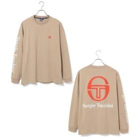 ジュンセレクト/【SERGIO TACCHINI】ロゴプリントロングTシャツ/ベージュ/L