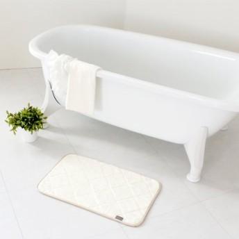 タオル感覚で洗える 乾度良好(R) CARARACAバスマット35×60cm フェリシモ FELISSIMO【送料:450円+税】
