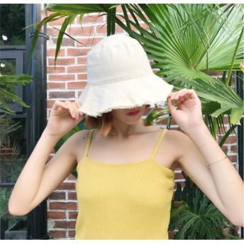 帽子 レディース UV 折りたたみ 小顔効果 ツバ広ハット帽子 紫外線100%カット 日焼け防止 軽量 旅行 お出かけ 綿ポリブリムUVハット